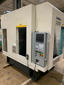 Brother Tc32b Qt Cnc Drilling Tapping Center With Turbo Chip Conveyor