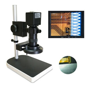16mp 1080p 60fps Hdmi Zoom Industrial C mount Microscope Camera Photo Video Us