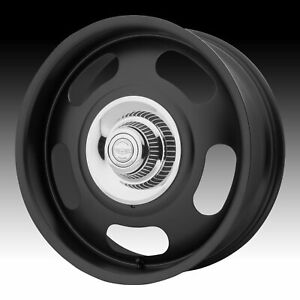 American Racing Vintage Vn506 Rally Black 17x9 5x4 75 5x5 12mm vn50679006712