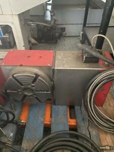 Used Haas Hrt 210 Brush Red Sigma 1 Rotary Table Indexer 4th Axis A Axis