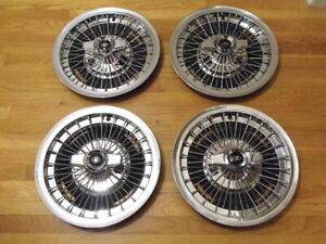 Rare 1963 1964 1965 Buick Riviera 15 Inch Wire Spinner Wheelcovers