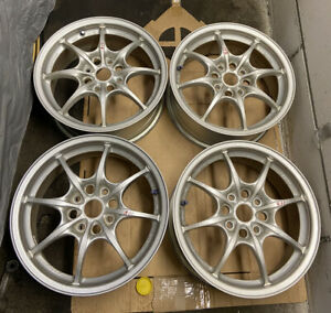 Rare Genuine Jdm 16 Honda Mugen Mf8 Wheels Rims Accord Civic Acura Integra