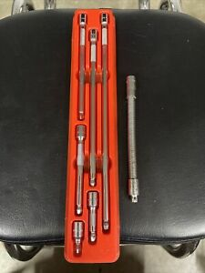 Nos Snap On 106atmxwp 6 Pc 1 4 Drive Wobble Plus Extension Set Free Shipping