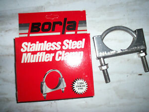 2 5 Borla Stainless Steel Exhaust Clamps 18250