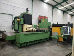 Anayak Fbz hv 2500 Cnc Traveling Column Bed Mill With Rotary Table Heidenhein