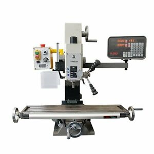 2 Axis Chester Machine Tools Champion 20v Mill Dro Kit mill Not Included