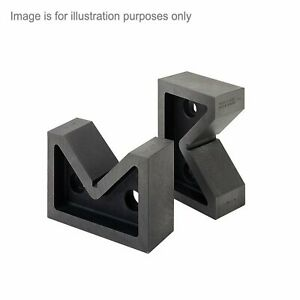 Moore And Wright 63mm 2 48 Standard Pair Vee Blocks Precision 200 Series Mw211