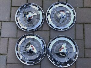 1962 Chevrolet chevy Impala Ss Hubcaps set Of 4