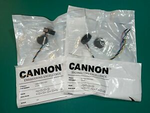 Pair Of Feniex Cannon 120 Hide a way Led Lights Dual Amber white H 2219aw