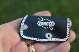 Vintage Sunoco Advertising Gas Oil Key Holder Part Accessory