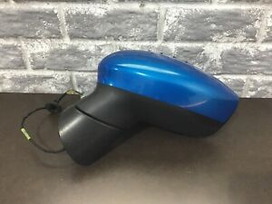2011 2012 2013 2014 2015 2016 Ford Fiesta Mirror Heated Left Dr Side Blue 235