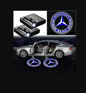 For Mercedes benz Courtesy Door Led Logo Projector Light 2pc Welcome Light Cla