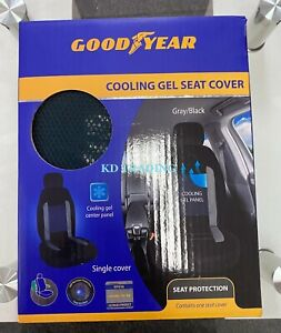 Goodyear Universal Single Cooling Gel Seat Cover Protection W Spill Resistance