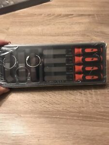 Snap On Feeler Gauge Blade And Handles 86 Piece Set Metric Imperial Orange New