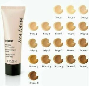 Mary Kay Time Wise Matte wear Liquid Foundation Select Shade Combo To Oily Skin