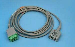 Ge Marquette Dash Pro Tram 11 Pin 3 5 Leads Ecg Trunk Cable Same Day Shipping