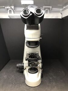 Nikon Eclipse 50i Fluorescence Microscope W C te Head For Parts See Desc Jhb1