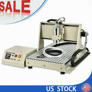 Cnc6040 Router Engraving Machine 4 Axis Usb 3d Milling Machine W controller 110v