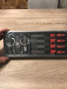 Snap On Feeler Gauge Blade And Handle Set Red 86 Piece Set Metric Imperial New