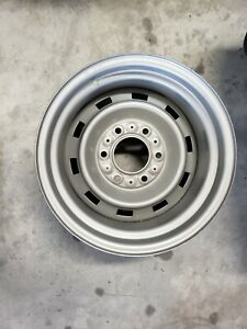 Chevy Gmc Gm Truck Rally Wheel 6 Lug 15x8 K10 4x4 Steel Nos Unused