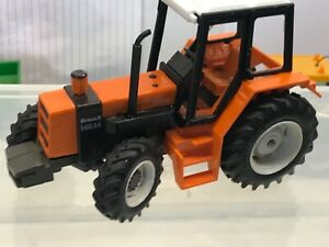 Britains vintage renault 145 14 Turbo 4x4 Farm Tractor All Working v Near Mint