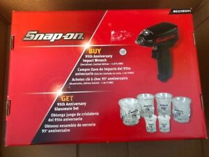 Snap On 3 8 Drive Impact Gun Air Wrench Special Limited Adition With Free Glass