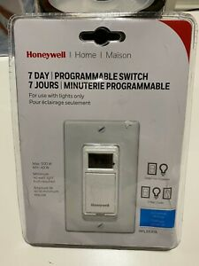 Honeywell Rpls530a 7 day Programmable Timer Switch White