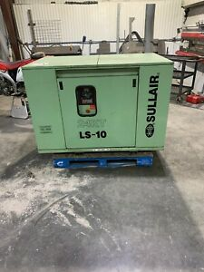 Sullair 24kt Ls 10 30hp Rotary Screw Air Compressor