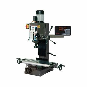 2 Axis Chester Machine Tools Lux Milling Machine Dro Kit mill Not Included