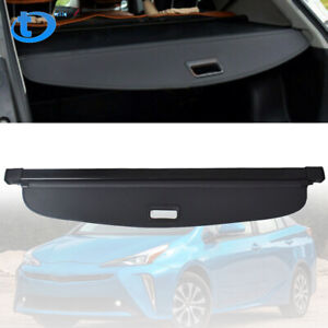 For Toyota Prius 2016 2019 Black Luggage Cargo Cover Shield Security Trunk Shade
