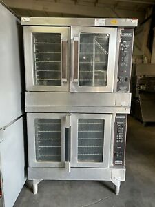 Hobart Double Stack Full Size Convection Oven Nat Gas
