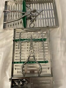 Hu friedy Dental Rubber Dam Cassette Signature Series With All Clamps And Punch