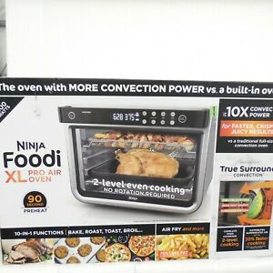 Ninja Dt201 Foodi 10 in 1 Xl Pro Air Fry Oven Counter Dt201 Dent On Right Side