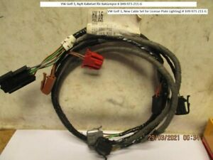 Vw Golf 3 New Cable Set For License Plate Lighting 1h9 971 211 g