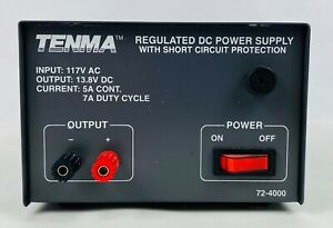 Tenma Test Equipment Regulated Dc Power Supply 72 4000