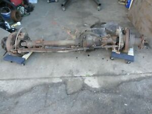 87 91 Ford F350 Front Dana 60 Axle Differential Assembly Dually 4 10 King Pin