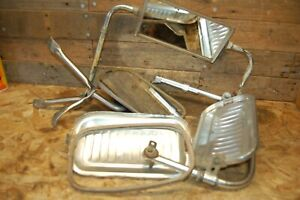 Vintage Lot Of West Coast Mirrors Truck Camper Towing