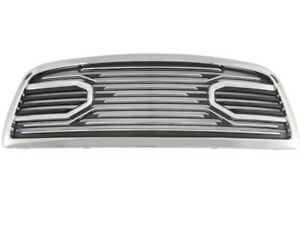 Front Big Horn Chrome Packaged Grille Chrome Shell For 09 2012 Dodge Ram 1500