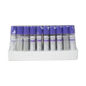 100pcs 2ml Vacuum Blood Collection Tubes Edta Tubes Safty For Test Instruments