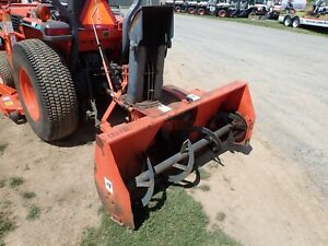 Kubota Bl2660 Snow Blower 60 2 Stage 540 Pto 3 Pt Hitch Fits Many Tractors