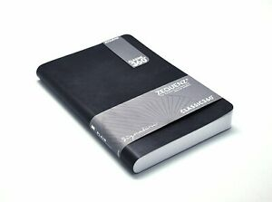 Zequenz Classic 360 Soft Cover Notebook Soft Bound Journal Large Black