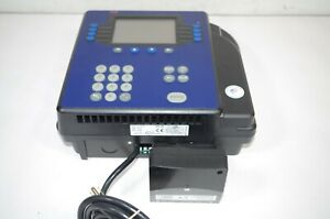 Adp Quickstamp 4500 Employee Time Clock Machine Puncher Powers On