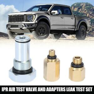 1 Set Ipr Air Test Valve Tool And Adapters Leak Test For Ford 6 0l Power Engine