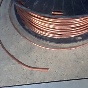 8 Awg Soft Annealed Ground Wire Solid Bare Copper 25ft 50ft 75ft 100ft 100 75