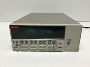 Keithley 6487 Autoranging Picoammeter Voltage Source Tested