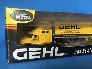 Gehl Construction International Semi With Van Trailer By Dcp 1 64