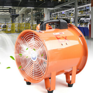 10 Extractor Axial Fan Blower Spray Booth Fume Utility Ventilation Air Mover