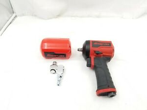 Snap On 3 8 Drive Stubby Air Impact Wrench Pt338