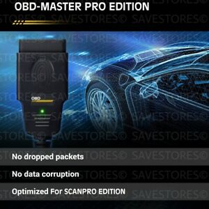 Diagnostic Cable For Vw Audi Skoda And Seat Obd2 Can Bus Scanpro