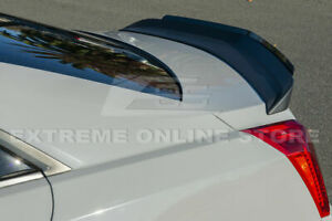 For 14 19 Cadillac Cts V Sedan Cp Style Abs Rear Trunk Spoiler Wing Wickerbill